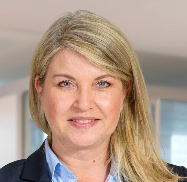Verkaufsleiterin Susanne Schmitz